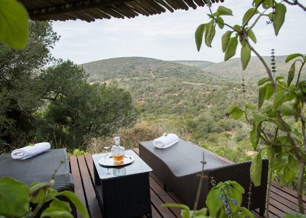 Hopewell-Private-Game-Reserve-Accommodation-Nguni-Private-Luxury-Suite Gazebo Deck